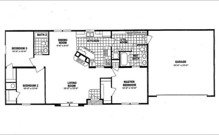 Mobile Home Floor Plans Garage Homes Ideas