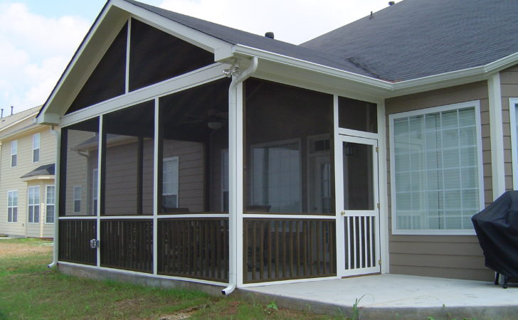 Mobile Home Front Porch Roof Designs Screen Valiet