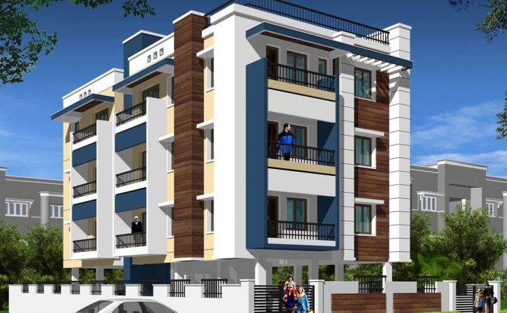 Modern Apartment Building Elevations