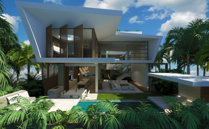 Modern Beach House Chris Clout Design