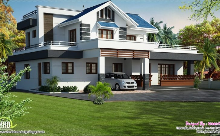 Modern Bedroom Villa Design Kerala Home