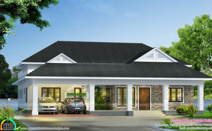 Modern Bungalow Architecture Kerala Home