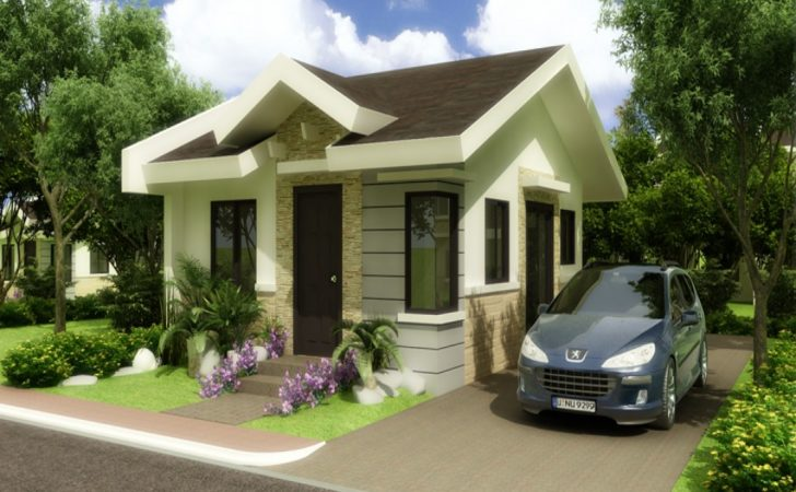 Modern Bungalow House Designs Floor Plans Small