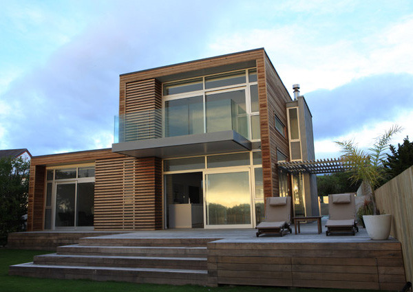 Modern Coastal House Waimarama New Zealand