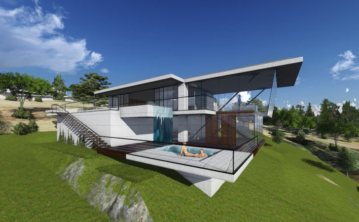 Modern Concrete House Design Melbourne Best