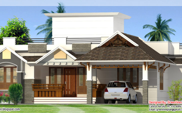 Modern Contemporary Home Feet Keralahousedesigns