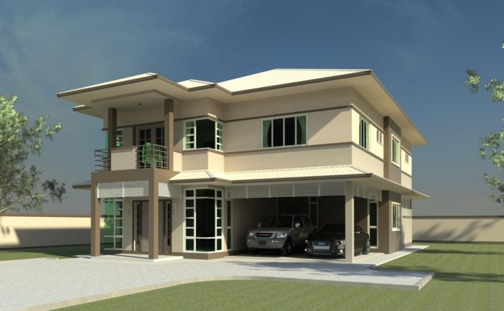 Modern Double Storey House Plans Quotes Home Building