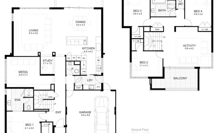 Modern Double Story House Designs Douglas