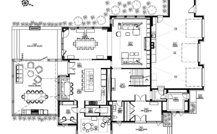 Modern Floor Plans Homes House