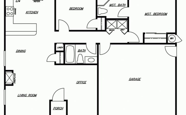 Modern Floor Plans New Homes Home