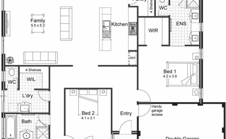 Modern Floor Plans New Homes Room Ideas