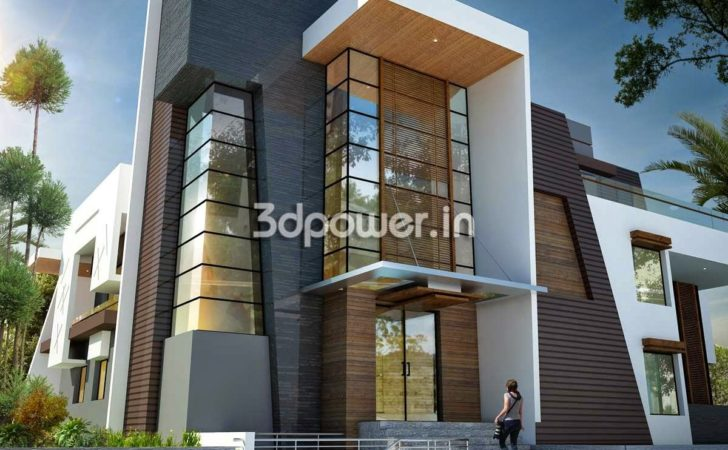 Modern Front Elevation Designs Homes Floor Plans