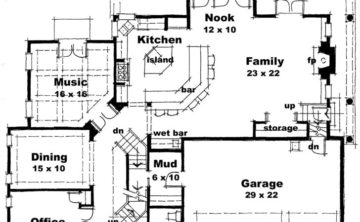 Modern Home Floor Plans New Small Designs