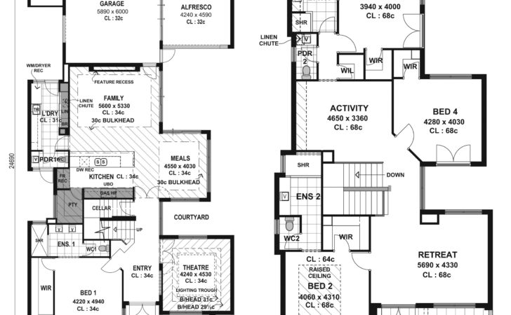 Modern House Floor Plans Ultra Home