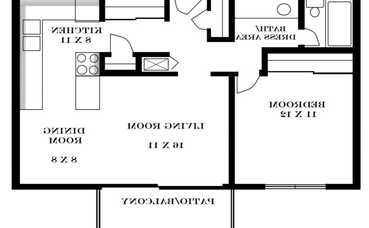 Modern House Plans All One