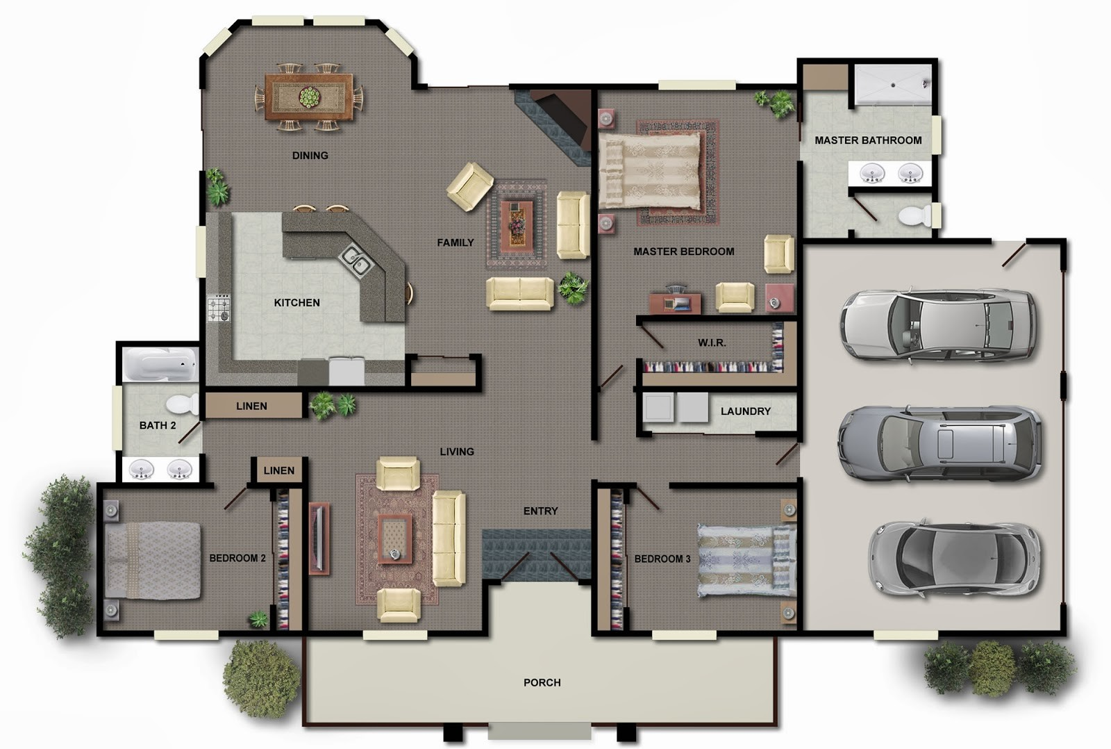 Modern House Plans Collection