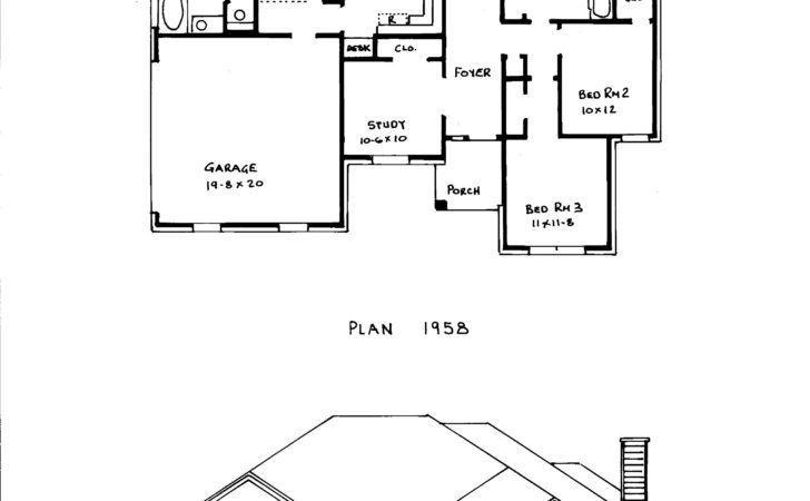Modern House Plans Narrow Lots