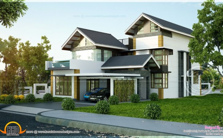 Modern House Plans Sloping Land
