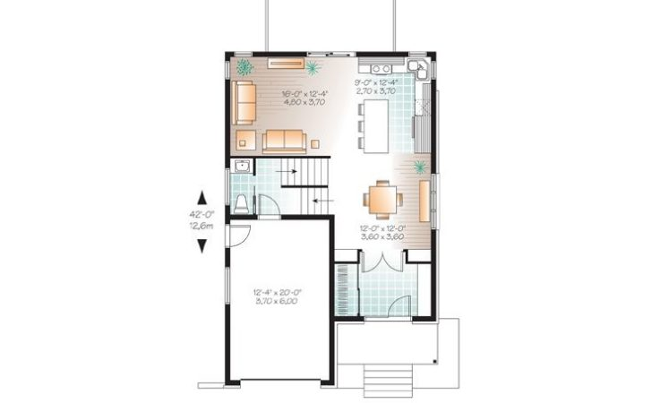 Modern House Plans Story Contemporary Home Plan Fits