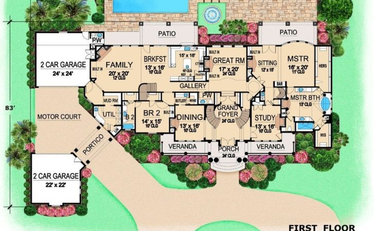 Modern Mansion House Plans Awesome