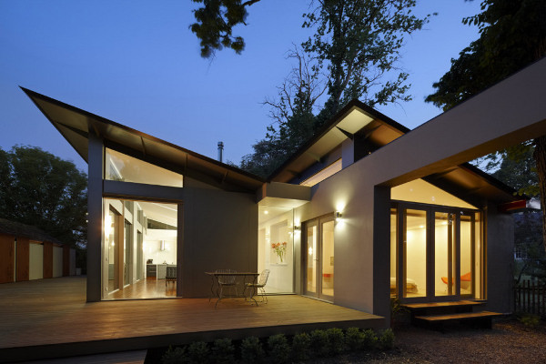 Modern One Story House Small Home Constructions