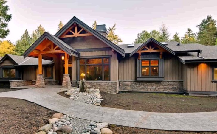 Modern Ranch Style Home Plans Homes Floor