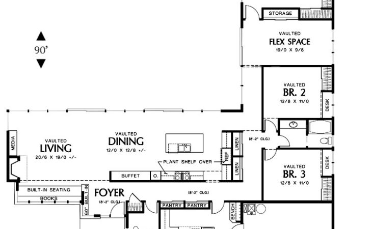 Modern Shaped House Plans