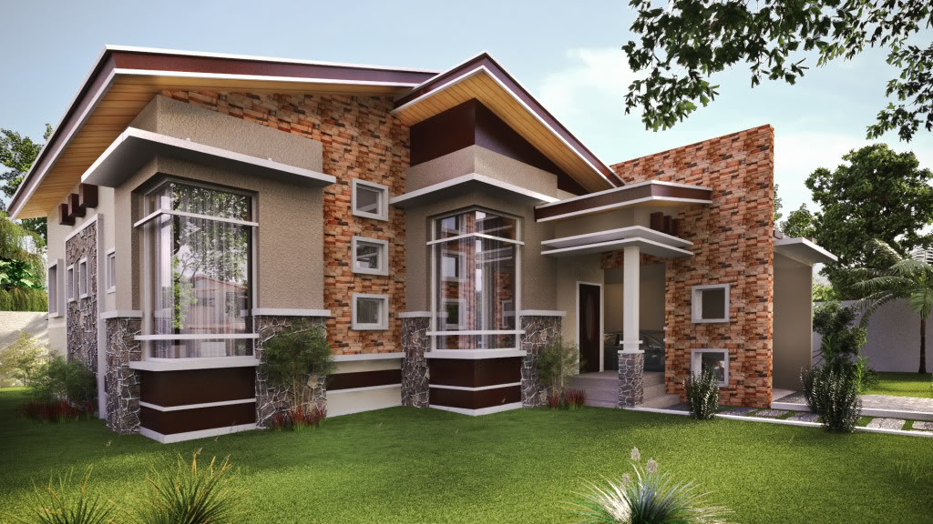 Modern Single Storey House Designs Bungalow