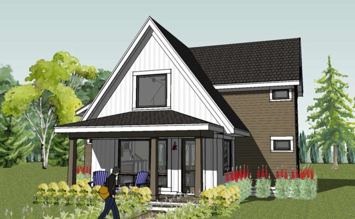 Modern Small Bungalow House Design Plans