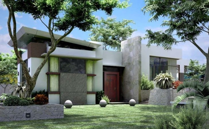 Modern Small Bungalow House Design
