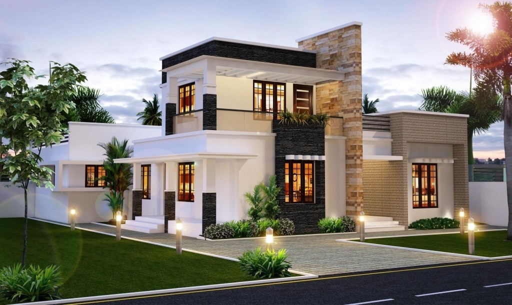 Modern Stylish Luxury Villa Design Everyone Like