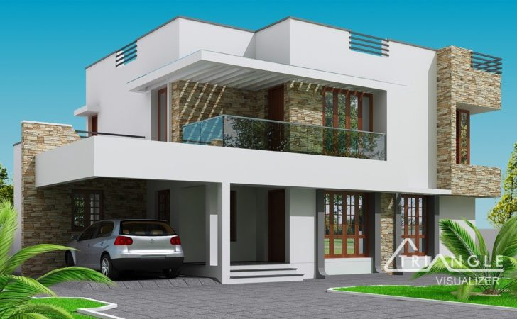 Modern Two Storey House Design World Furnishing