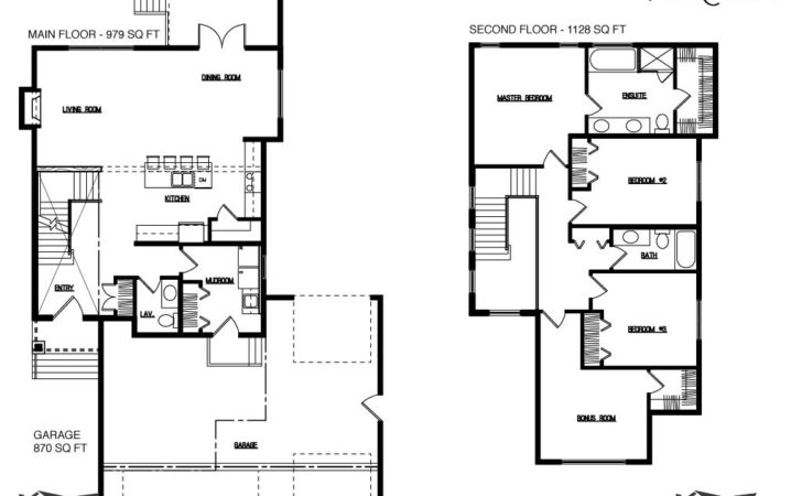 Modern Two Story House Plans