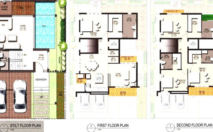Modern Zen House Designs Floor Plans