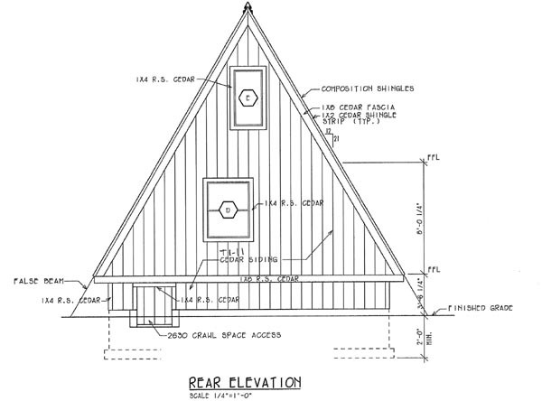 Modified Frame House Plans Find