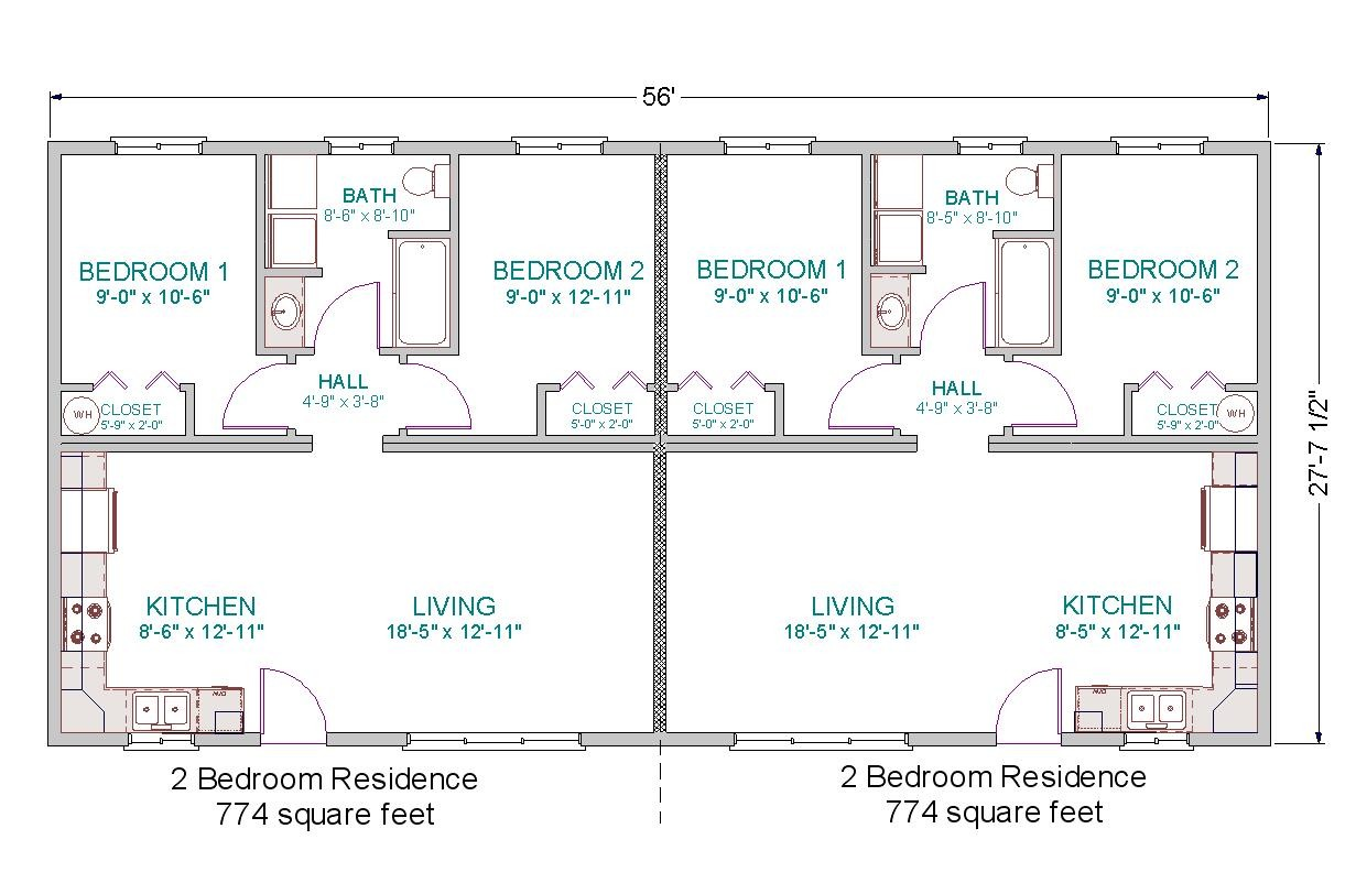 Modular Home Bedroom Floor Plan