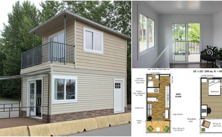 Modular Tiny House Can Delivered Fully