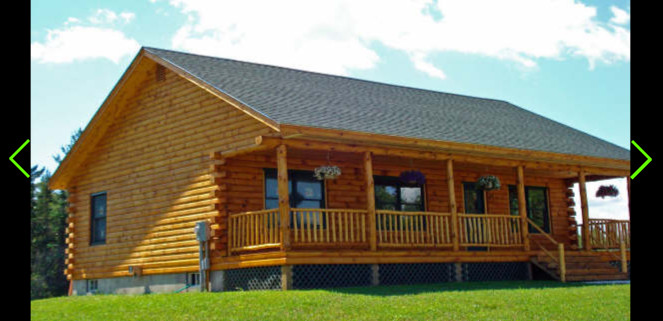 Mohawk Ranch Style Log Home Treetop Homes