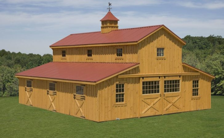Monitor Barns Custom Design Your Own Barn