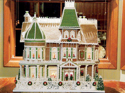 Most Beautiful Gingerbread Houses Internet