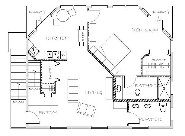 Mother Law Apartment Plan