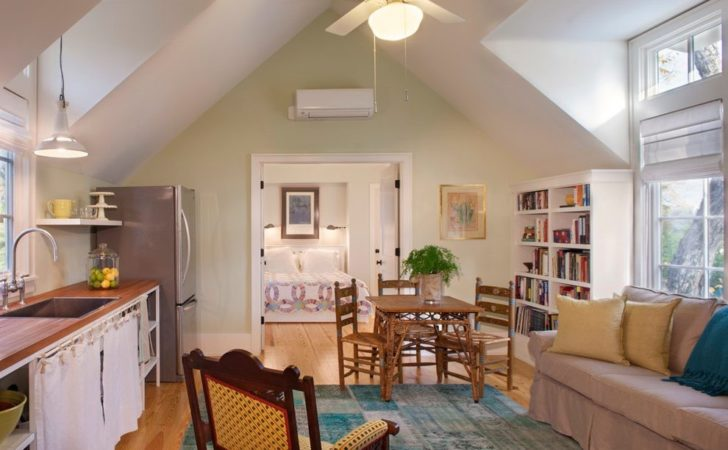 Mother Law Apartment Spaces Traditional White
