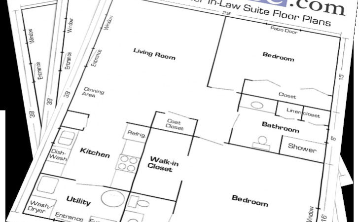 Mother Law Suite Floor Plans