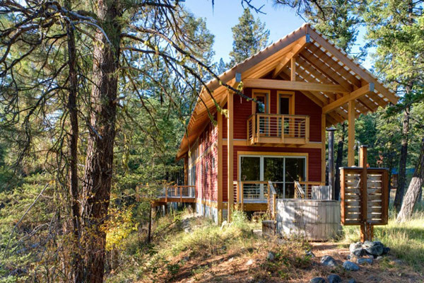 Mountain Cabin Accommodating Peaceful Way Living