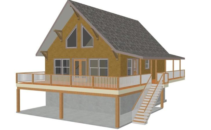 Mountain Cabin Plan Sds Plans