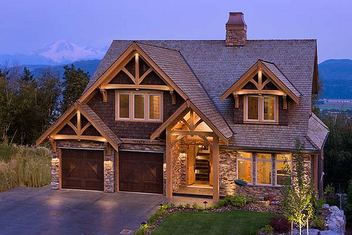 Mountain Timber Frame Home Exterior Flickr