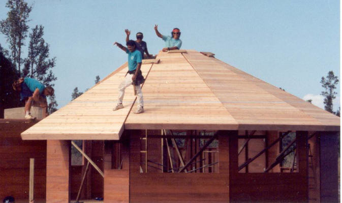 Multi Facetted Homes Panelized Natural Redwood Cedar