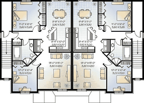 Multi House Plans Apartment Home Design Style
