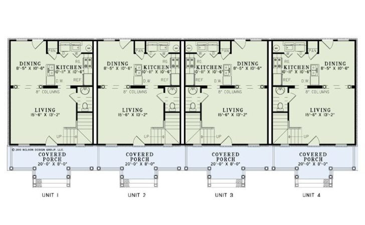 Multi Unit House Plans