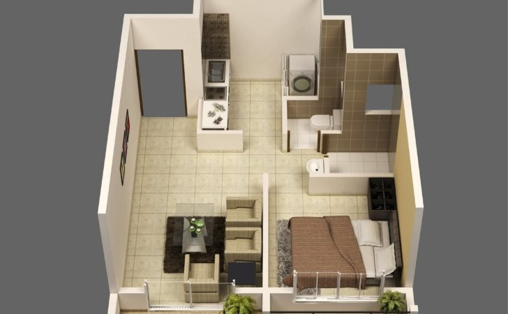 Mumbai One Bedroom Apartment Interior Design Ideas